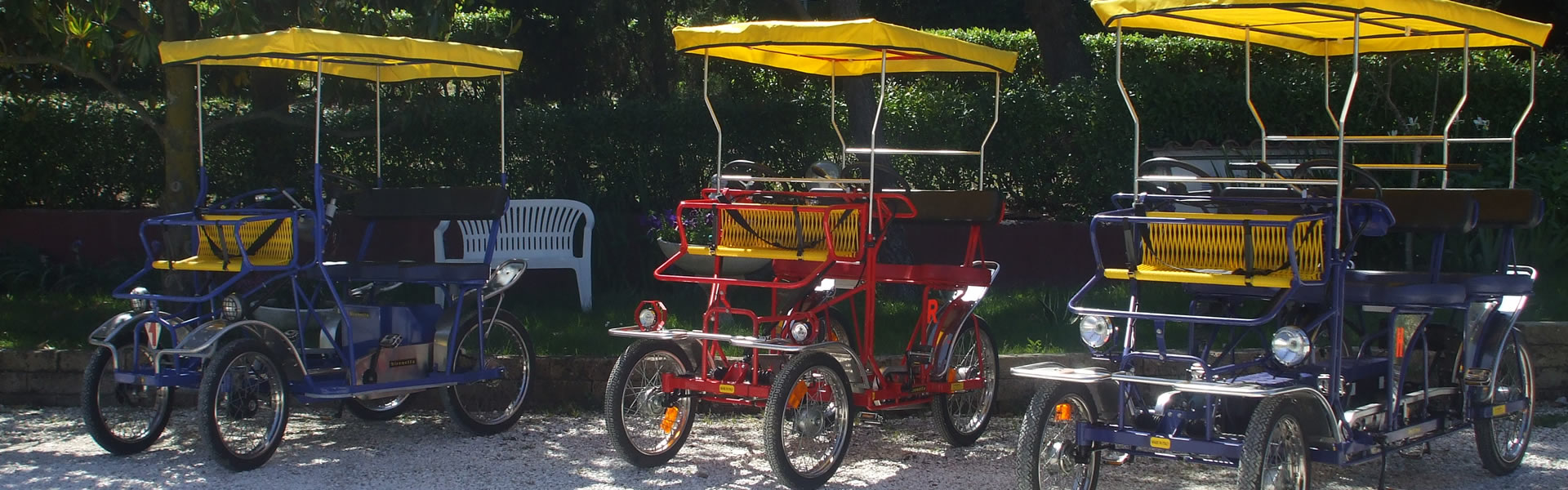 Rickshaw rental in Favignana